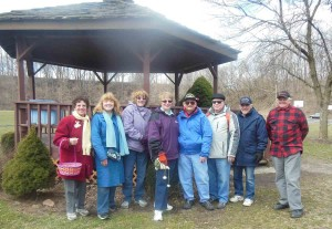 "Members of the ""I'm for High Bridge Committee"" at the 2013 Easter Egg Hunt"