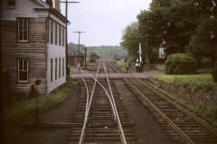 May 17, 1953 photo of the High Bridge Branch Line, High Bridge, NJ