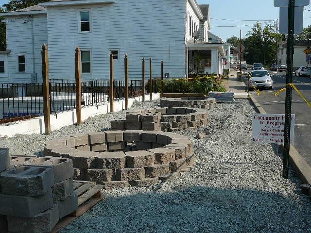 Mini-Park: during revitalization