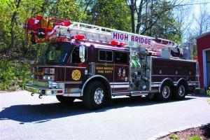 High Bridge Fire Department Fire Truck