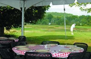 High Bridge Hills Golf Club Outdoor Dining