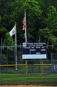 Picture of North Hunterdon Youth Baseball Sign