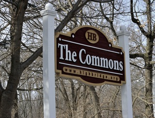 Picture of The Commons Park Sign, High Bridge, NJ