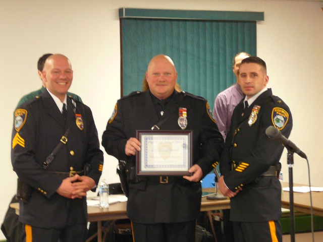 Police Officer Schaffer Life Saving Award