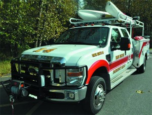 High Bridge EMS Truck