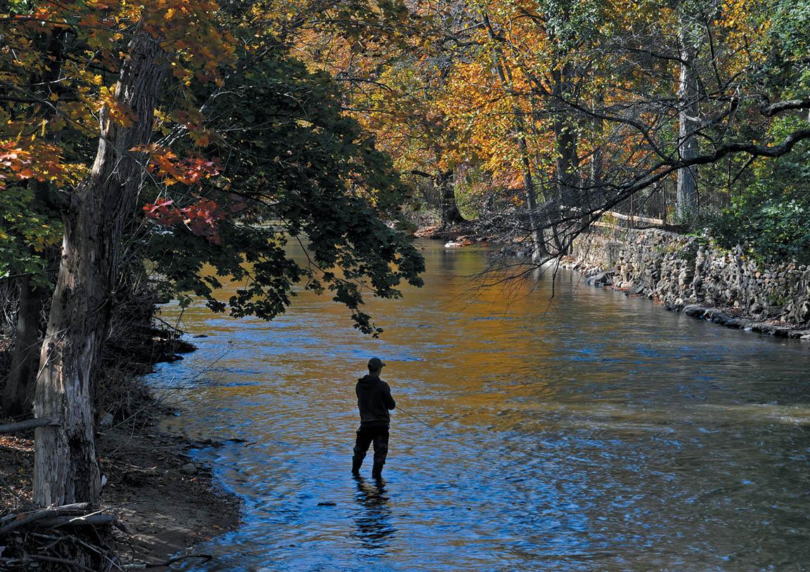 South branch of raritan river and ken lockwood gorge for Raritan river fishing